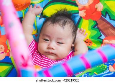 Asian baby cute boy newborn