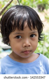 Asian begin as wild age boy. (3 - 4 years old)
