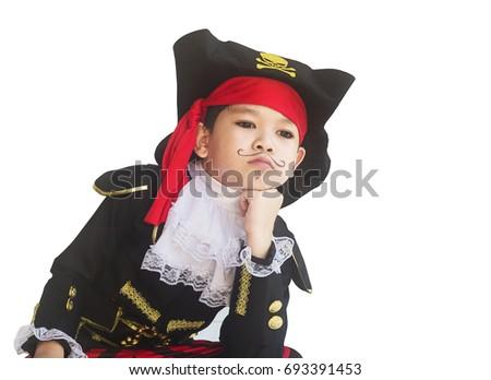 Asian pirate costume
