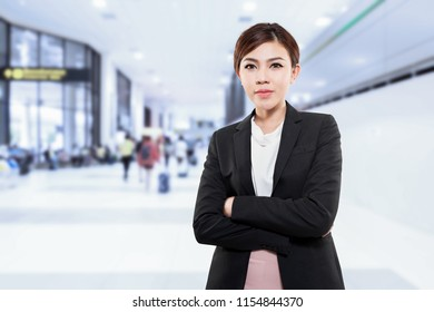 asian business woman on travel