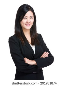Asian business woman portrait