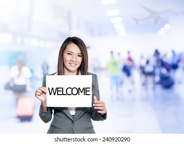 Welcome Poster Template Stock Photos Images Photography