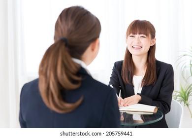 asian businesswomen business image