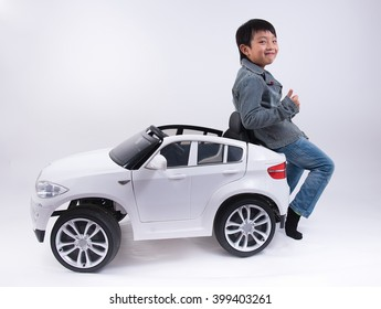 asian car boy funny toy kid driver happy cute smile cool