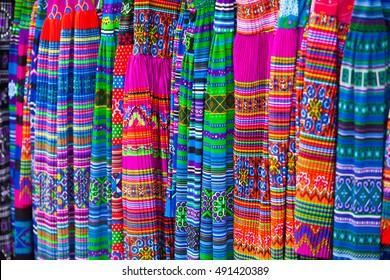 Asian carpet pattern, Thai ethnical style in Vietnam