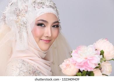 Pakistani And Arabic Wedding Makeup Images Stock Photos