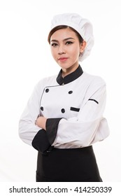 asian chef woman