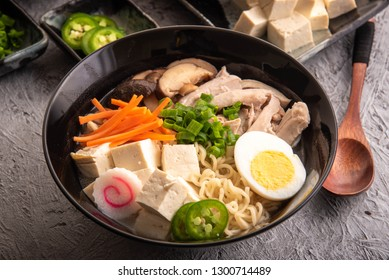 asian chicken ramen