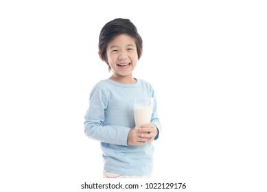 Boy with Milk Images, Stock Photos & Vectors | Shutterstock