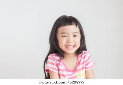 asian child smile lovely