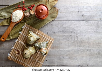 Asian Chinese Rice Dumpling, Zongzi