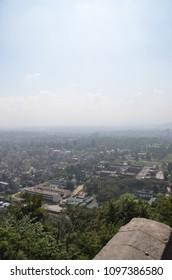 The Asian city. Katmandu, Nepal.