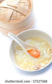 Asian Crab Meat Soup