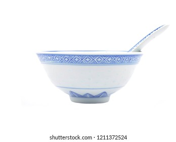 Asian dinnerware with cutlery