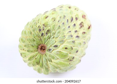 Asian famous Noni fruit isolated
