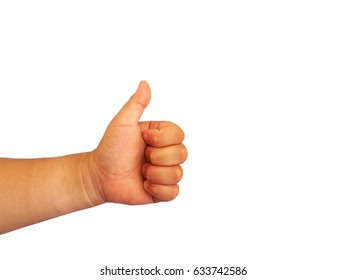 """asian fat girl's hand show symbol that """"Great or Good"""""""