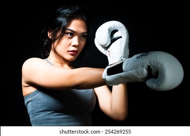 Asian Female Fighter