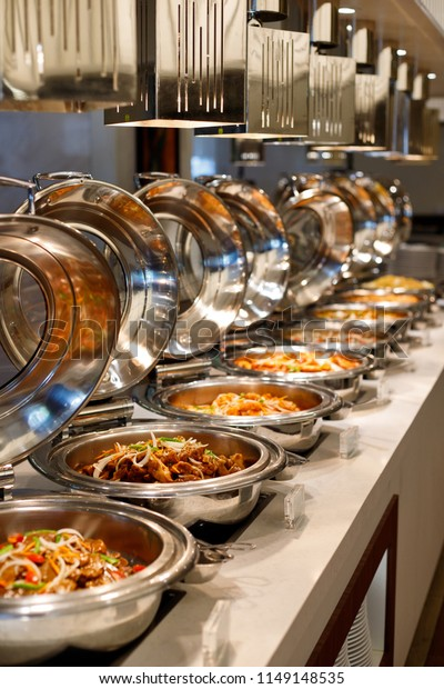 Asian Food Buffet Restaurant Stock Photo Edit Now 1149148535
