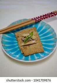 Asian food Fried oden vegetables