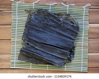 Asian food ingredients kelp