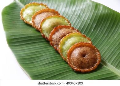 Asian food. Malaysia traditional kueh