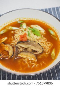 Asian food ramen