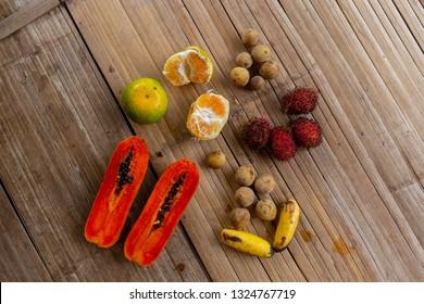 asian fruit in Thailand