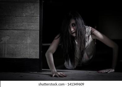 Ghost Girl Images, Stock Photos & Vectors | Shutterstock