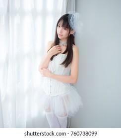 asian girl lady  japanese style