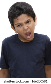 Asian kid angry indian