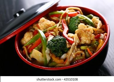 asian kitchen food
