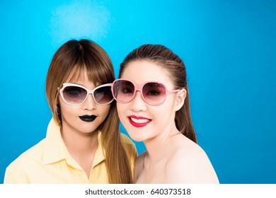 examination Asian lesbian