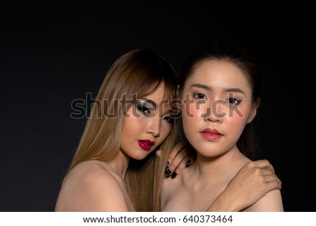 asian lesbian party