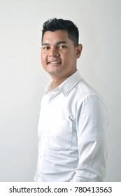 Asian male businessman portrait