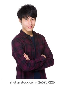 Asian male in casual
