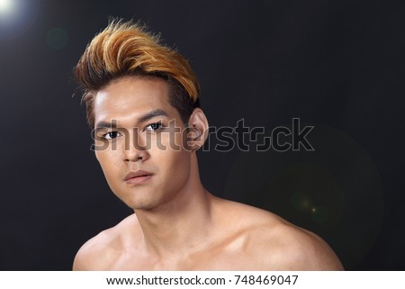 sexy male asian