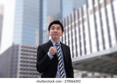 Asian man in suit #13