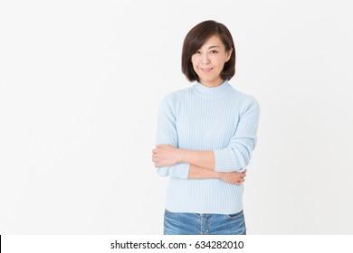 綺麗な中年女性 日本人の画像写真素材ベクター画像 Shutterstock