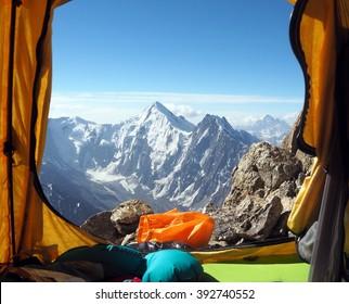 Montañas asiáticas. Kirguistán.