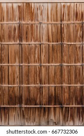 Asian old wood wall texture