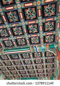 asian palace  dancheong