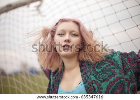Russian asian girl