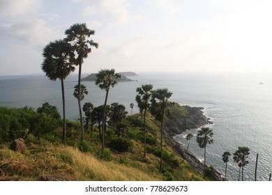 Asian peninsula seascape