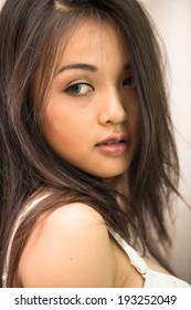 Asian pretty young girl