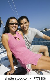 Asian Sailing Couple