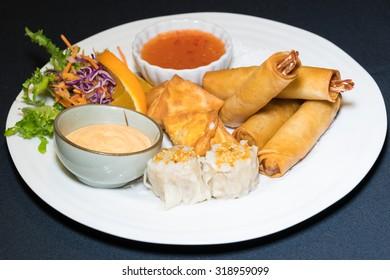 Asian Seafood Sampler
