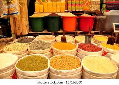 Asian spices and ingredients