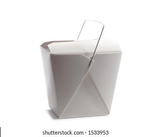 Asian take out box