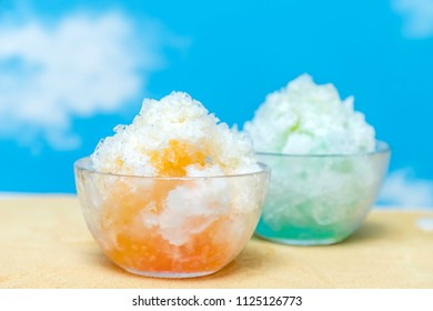 asian type of epidemic shaved ice