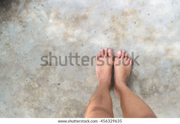 Mean girl feet